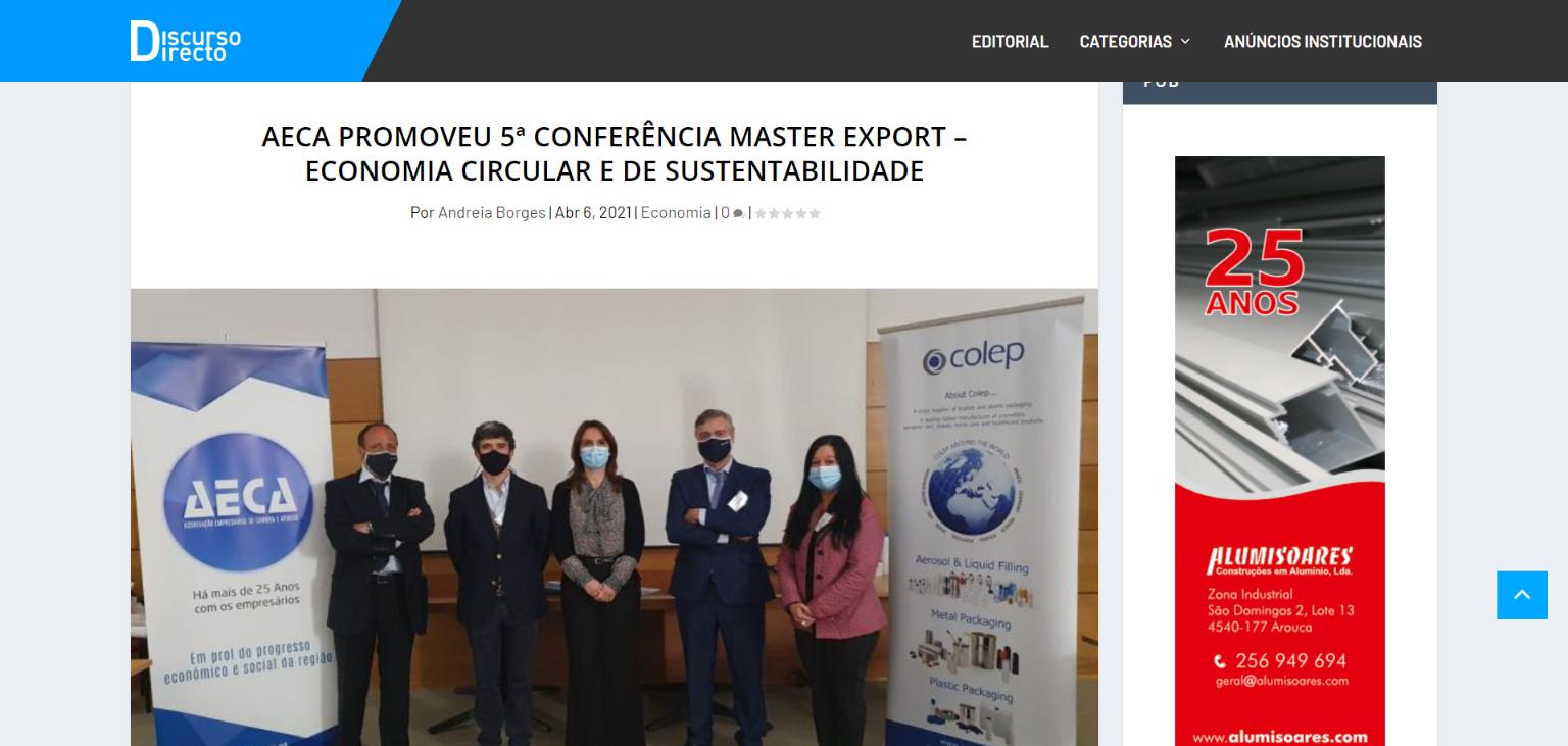 Jornal Discurso Directo Report