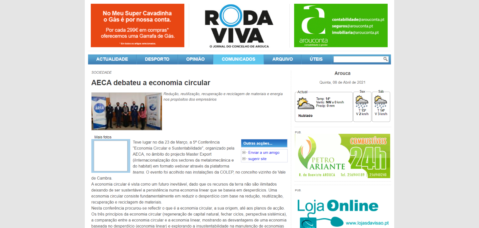 Jornal Roda Viva Report